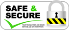 Safe & Secure Logo